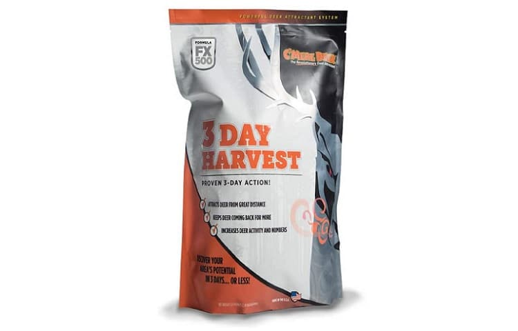 C'mere Deer 3 Day Harvest Hunting Scents Review